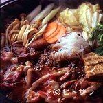 吉井十八 - チェリバリー種合鴨のすき焼き