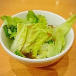 イタリアンダイニングDONA - ランチセットのサラダ
