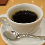 イタリアンダイニングDONA - ランチセットのドリンク     ホットコーヒー