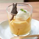 鎌倉ねこの間 - 料理写真:カスタードプリン
