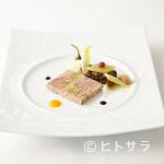 オテル・ド・ヨシノ - 素材を変え、通年提供される『和歌山産ジビエとフォアグラのパテ』