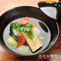 祇園 なん波 - 香り立つ美味しさ『煮物椀』
