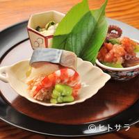 祇園 なん波 - 料理人の創意が溢れる『八寸』