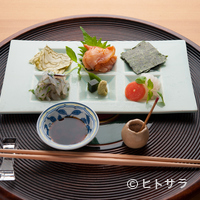 懐石料理 桝田 - お造り
