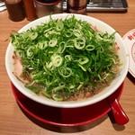 新福菜館 - 中華そば 九条ネギトッピング