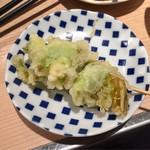 晩杯屋 - ふきのとうの天ぷら