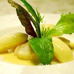 フランス食堂 シェ・モア - 陸奥湾帆立貝とりんごのクリーム煮