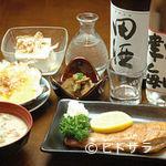 津軽三味線ライブ あいや - じょんからセット (お料理5品と2ドリンク)
