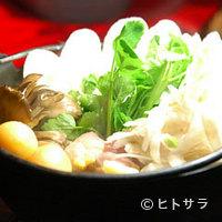秋田比内や - きりたんぽ鍋