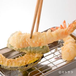 低価格の天ぷらは美味しくて大満足!!