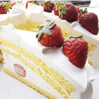パティシェによる手作りケーキ☆
