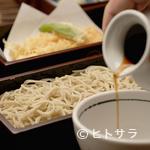 丸嶋 - 薬味でまた違った味わいを。天ぷらせいろ