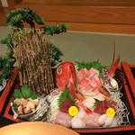 稲取東海ホテル湯苑 - 船盛!