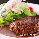 牛たん炭焼 利久  - 牛たんハンバーグ定食