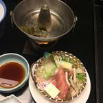 稲取東海ホテル湯苑 - 金目しゃぶ一人鍋
