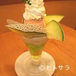 フルーツパーラー キムラ - メロンパフェ
