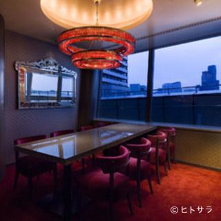 東京タワーの見える個室もご用意!!