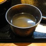 つけ麺さとう - スープ割用のスープ