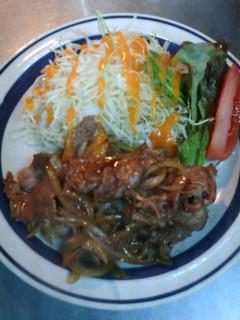 中華レストラン 東東 - 【しょうが焼き定食】ちょっぴり甘めのソースがご飯を誘います!