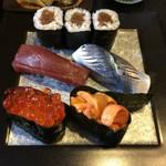鮨・和食 わたなべ - 後半の握り。
