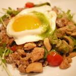 Vegetable&Grill Fams - 鶏肉のガパオご飯