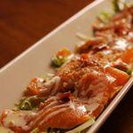 Vegetable&Grill Fams - スモークサーモンのカルパッチョ