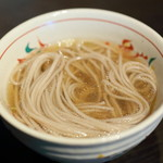 京都つゆしゃぶCHIRIRI - 蕎麦