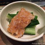 喃風  - きゅうりとサメ軟骨の梅和え(420円税別)