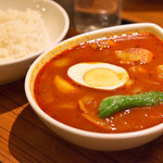 スープカレー屋 鴻 - チキンカレー