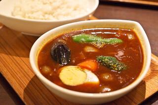 スープカレー屋 鴻 神田駿河台店 - 野菜カレー