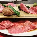 焼肉グレート - プレミアム希少部位7点盛り 5,000円