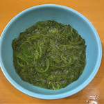 天ぷら 筧 - めかぶ
