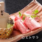 李昇 - ぜひ食べたい人気メニュー『特選ロースのわさび焼き』