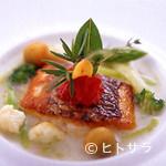 レストラン ひらまつ - 魚料理「真鯛のポワレ」