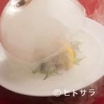 金蔦 - 盛り付け、演出、香りも味わえる【金蔦】の五感を刺激する料理