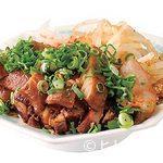 らーめん コーさん - 焼豚盛り合わせ(小)700円は100円追加でライスとスープ付定食に