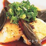 麺屋食堂まさお - ピータンと豆腐500円。豆腐は奈良の名店から直送