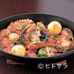 ryuen - 野菜もたっぷり京北町豚肩ロースのロティ2700円
