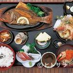 あぶ - 地魚バター焼き御膳 1785円