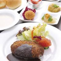 キッチン心 - 「ハンバーグランチ」1,260円