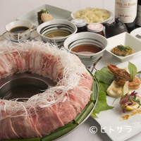 金蔦 - 「博多の第三の鍋」と話題の『博多炊き肉鍋』