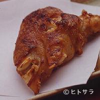赤兵衛 - 国産豚を使う「豚足焼」315円