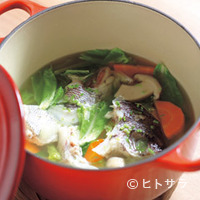 ながほり - 明石産もみぢ鯛のココットスープ仕立て2200円
