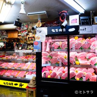 「宮崎牛」をはじめ、ずらりと並ぶブランド牛