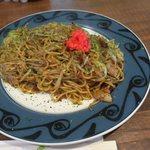 まるさん - 料理写真:ぶた焼きそば(大盛り)