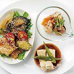 niji cafe - 野菜の濃い味を生かすべく、の野菜と鶏肉の甘酢あんかけ