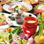 Vegetable&Grill Fams - コース料理1