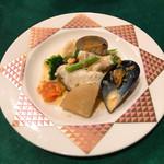 フレンチグリル・アンジェリック - メイン(魚) 真鯛のソテー