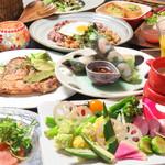 Vegetable&Grill Fams - コース料理2