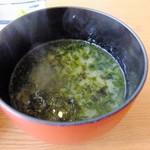 伊豆高原ビール うまいもん処 - 味噌汁